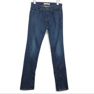 J Brand Cigarette Leg Dark Wash Skinny Jeans 28